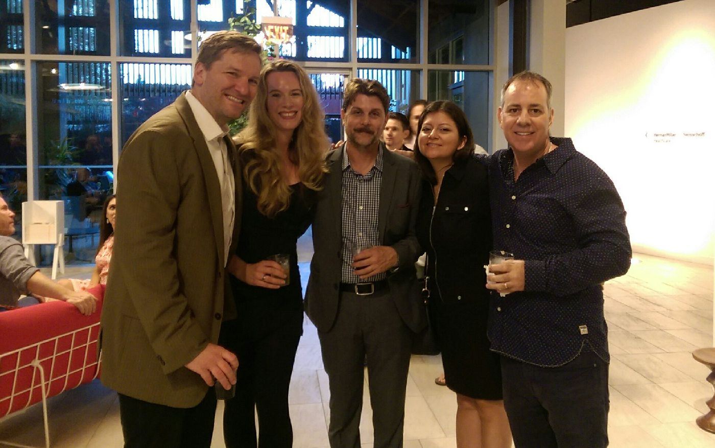 Ted Balaker, Courtney Balaker (Korchula Productions), Johnny Dowers (Actor), Roxana Warbasse, Philip Warbasse (Warbasse Design)